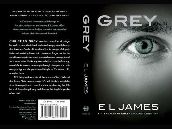 Grey Book EL James Grey Book Christian Grey Point Of