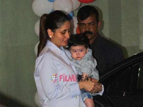 Kareena On Taimur Being Paparazzi's Darling