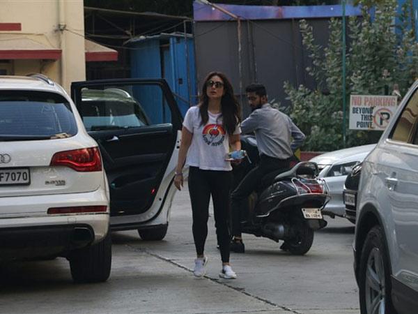 Kareena Kapoor's Monday Gym Look