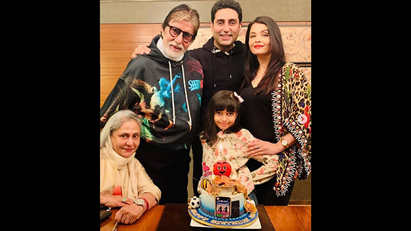Abhishek Bachchan's Birthday: Aishwarya-Aaradhya Shower Love; Amitabh Bachchan Pens Emotional Note