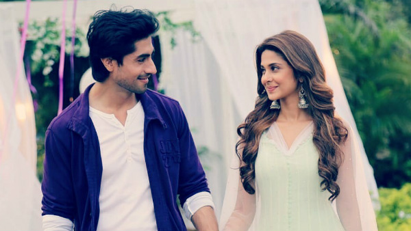 Harshad Chopda & Jennifer Winget