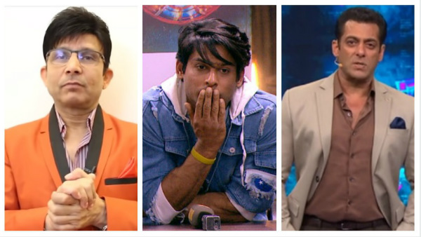 Salman Khan Is Against Sidharth Shukla Winning Bigg Boss 13 Claims Kamaal R Khan