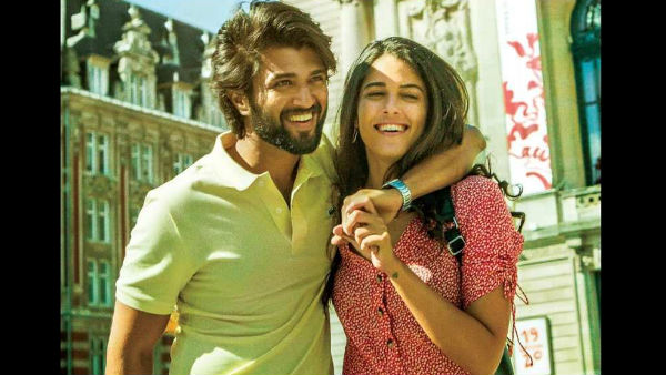 Vijay Deverakonda and Izabelle Keite