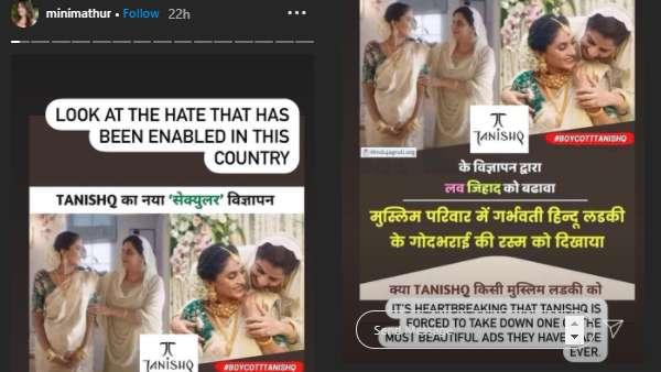 IG Story of Mini Mathur