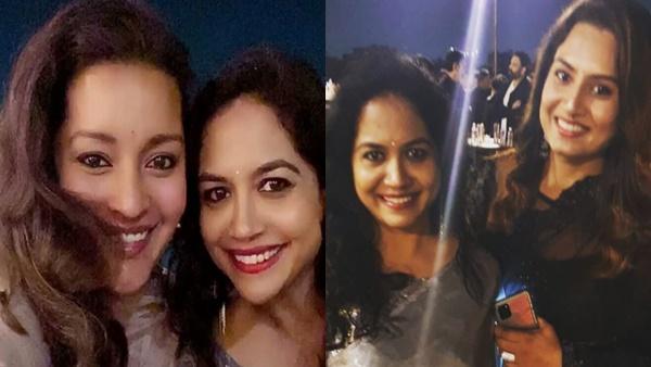 Singer Sunitha Ram Pre Wedding Party Celebrations