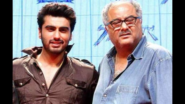 It Was Arjun Kapoor Who Persuaded Boney Kapoor To Take Up The Role