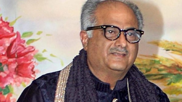 Meanwhile, Boney Kapoor Is Not Nervous About Being In Front Of The Camera