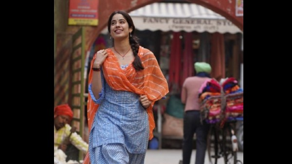 Janhvi Kapoor's Look From Good Luck Jerry