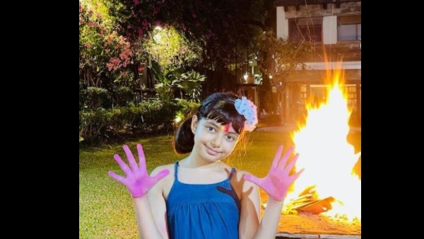 Aaradhya Bachchan Gives Us Colourful Vibes