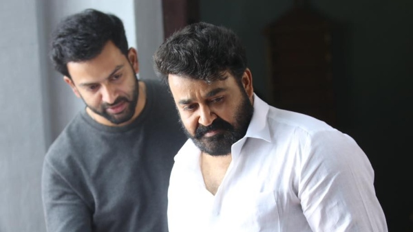 Prithviraj Sukumaran Wishes Mohanlal On His Birthday: Shares An Unseen Still From Lucifer Day 1 Shoot