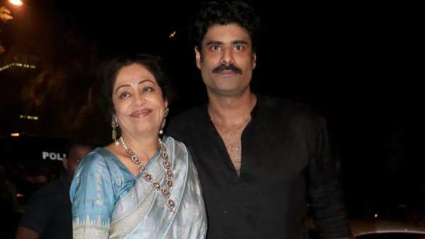 Kirron Kher Makes A Rare Appearance In Son Sikandar Kher's Live Video, Scolds Him About Marriage Plans