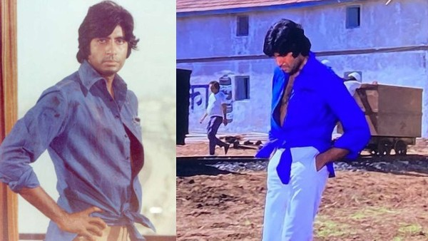 Amitabh Bachchan Reveals His Iconic Knotted Shirt Look From Deewar Was Actually A Tailoring Glitch!