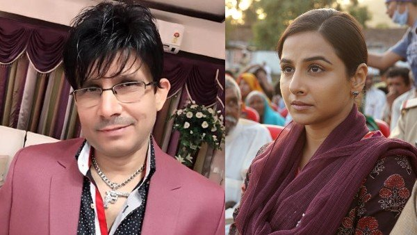 KRK Reveals Why He Didn't Review Vidya Balan's Sherni; Says 'I Don't Watch Such Small Films'