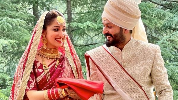 Yami Gautam And Aditya Dhar Enter Wedlock: Bollywood Celebs Wish The New Couple!