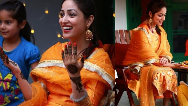 Yami Gautam's Mehendi Ceremony Pictures: Actress Steals The Show With Her Million Dollar Smile