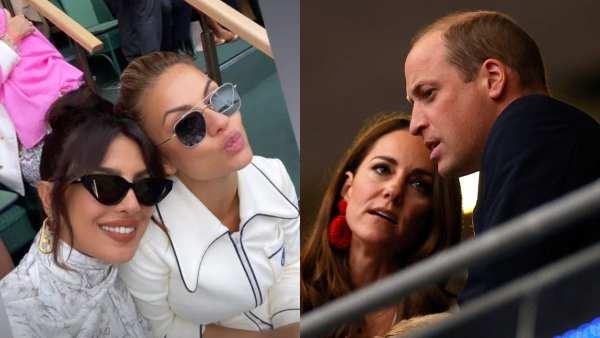 Priyanka Chopra Snubbed Prince William and Kate Middleton At Wimbledon Finals?