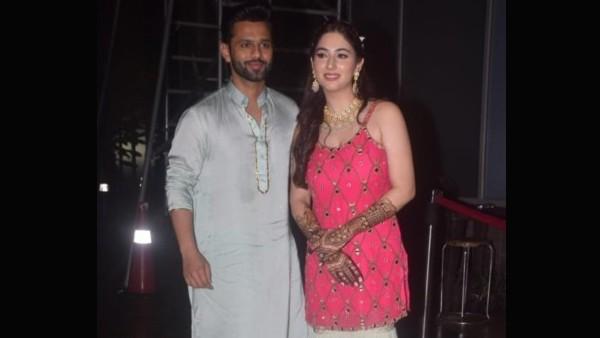 Disha Parmar-Rahul Vaidya's Pre-Wedding Festivities Begin, Actress Looks Stunning In Her Mehendi Ceremony Pics