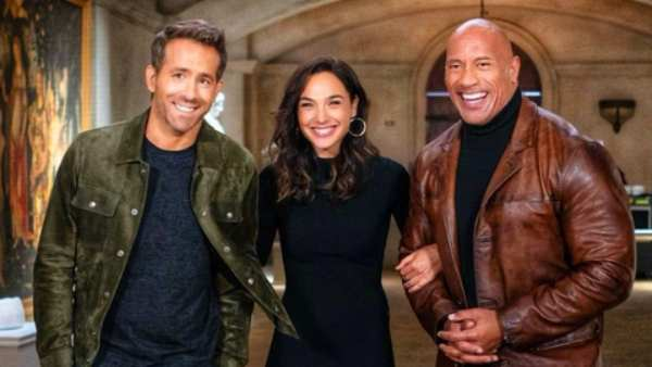 Dwayne Johnson, Gal Gadot and Ryan Reynolds' Red Notice To Release On November 12