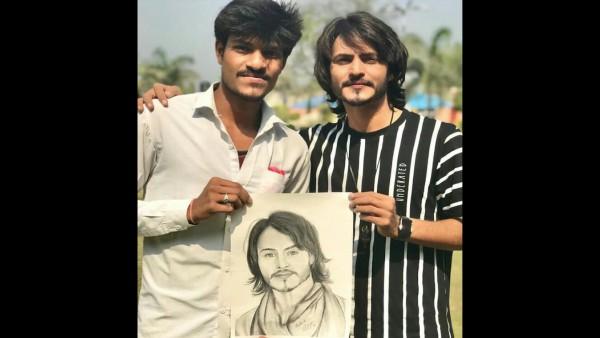 Fan Surprises Ravi Bhatia With A Beautiful Sketch