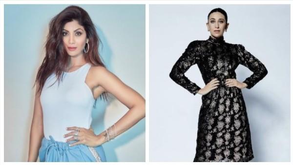 Shilpa Shetty & Karisma Kapoor