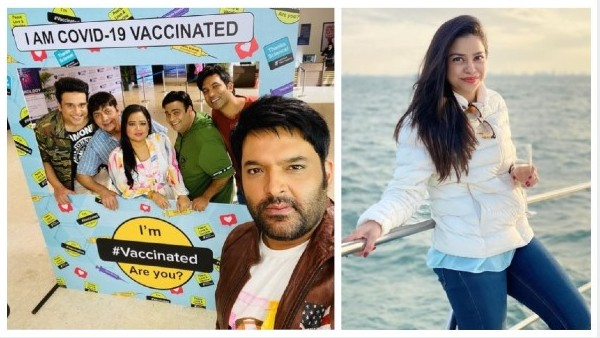 The Kapil Sharma Show's Cast Get Vaccinated Ahead Of Shoot; Isn't Sumona Chakravarti A Part Of Show?
