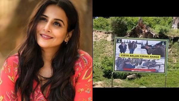 राष्ट्रीय प्रेरणा के रूप में उभरीं विद्या बालन;  कश्मीर में फायरिंग रेंज का नाम उसके नाम पर रखा गया