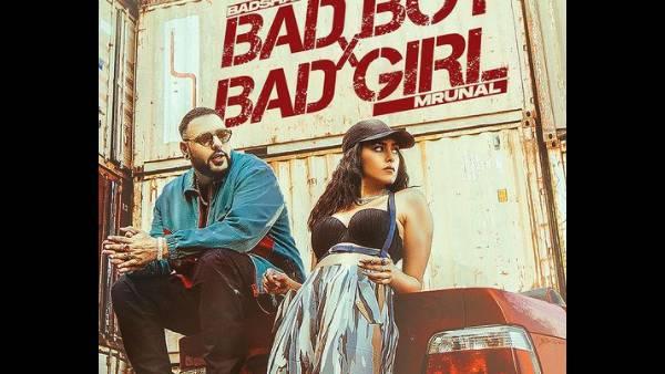 बैड बॉय एक्स बैड गर्ल: मृणाल ठाकुर और बादशाह ने अपने म्यूजिक वीडियो के पोस्टर में स्वैग उतारा