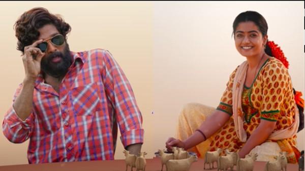 Pushpa's Second Single 'Srivalli' Featuring Allu Arjun And Rashmika Mandanna Is Soulful And Bewitching!