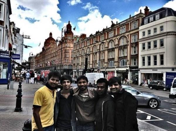 Dhanush Birthday celebrations at London