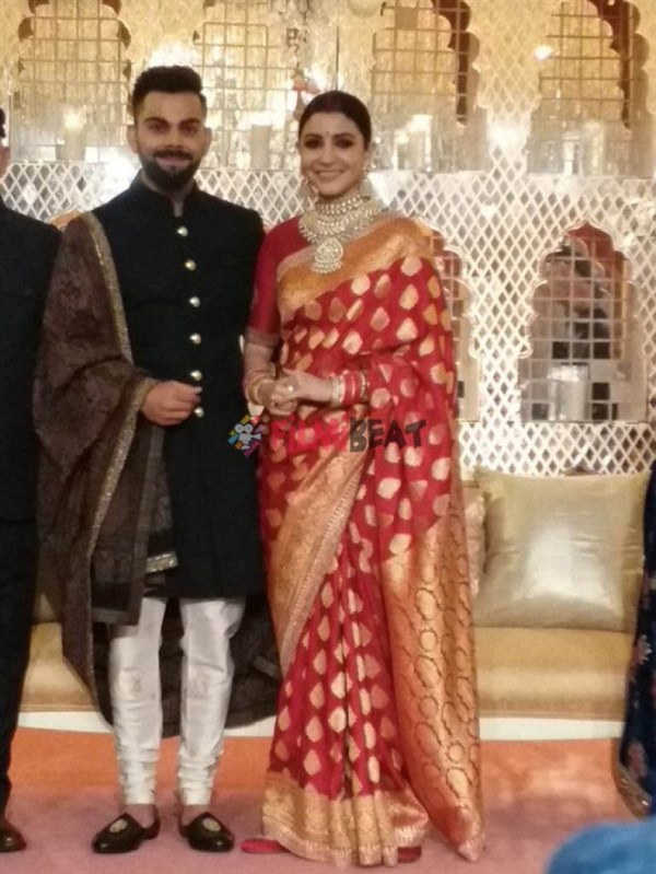 Anushka Sharma & Virat Kohli Wedding Reception In New ...