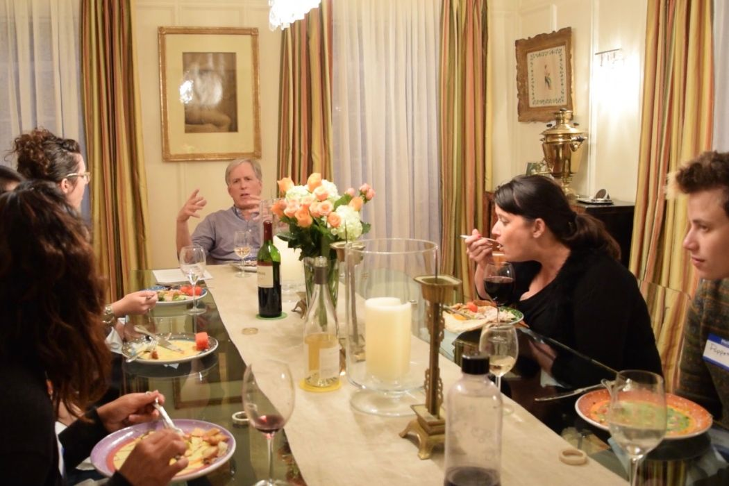 Dinner With Dames: Dinner #9, With Lawrence Kopeikin (Recap)