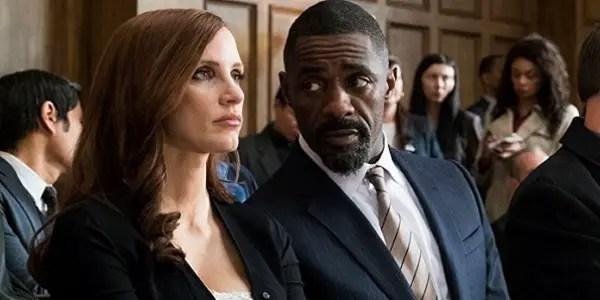 MOLLY'S GAME: Jessica Chastain & Idris Elba