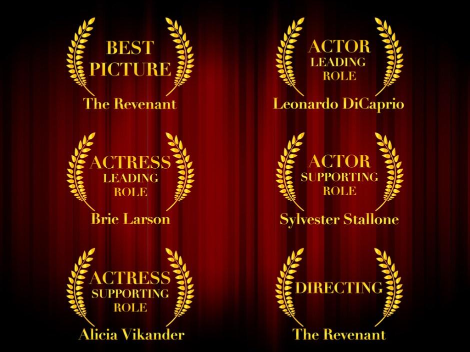 Oscar Favoriten 2016