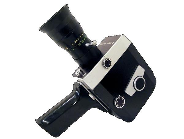Zenit Quarz 1x8S2: Super 8-Kamera gebaut wie eine Normal 8-Kamera