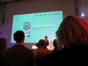 Eröffnungsveranstaltung vom Reykjavík International Film Festival