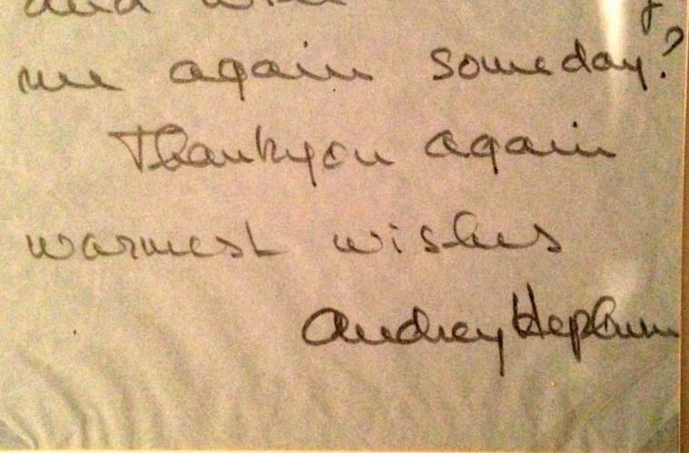 audrey hepburn letter to stanley kubrick-Filmloverss