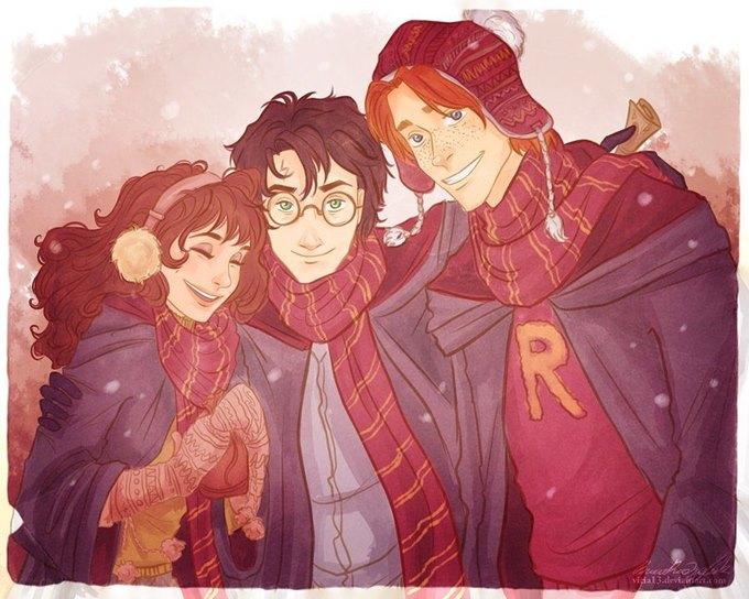 Harry, Ron ve Hermione