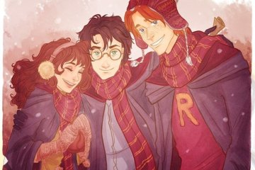 Harry, Ron ve Hermione