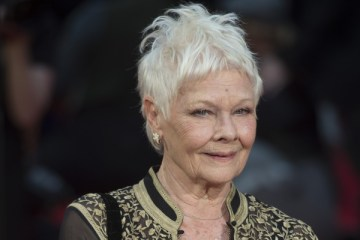 epa05242671 British actress Dame Judi Dench arrives for the 40th annual Olivier Awards at The Royal Opera House in Central London, Britain, 03 April 2016. The annual theatre awards is named after British actor Laurence Olivier.  EPA/WILL OLIVER