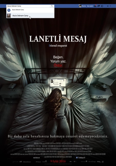 Lanetli Mesaj - Friend Request - afis-filmloverss