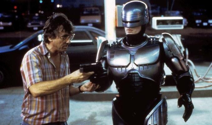 ROBOCOP, Director Paul Verhoeven, Peter Weller, 1987 © Orion Pictures/