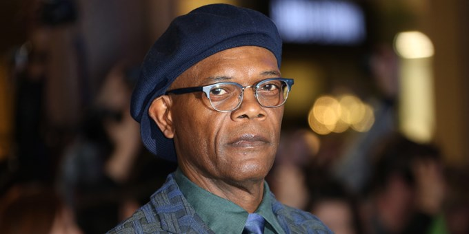 Samuel L Jackson arrives for the UK film premiere of Captain America: The Winter Soldier at the Vue Westfield, west London, Thursday, March 20, 2014. (Photo by Joel Ryan/Invision/AP Images)