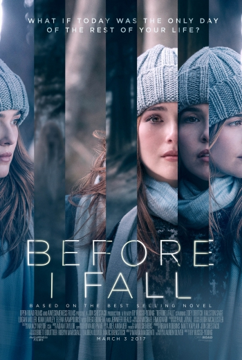Poster image of Before I Fall by Ry Russo-Young, an official selection of the Premieres program at the 2017 Sundance Film Festival. Courtesy of Sundance Institute.