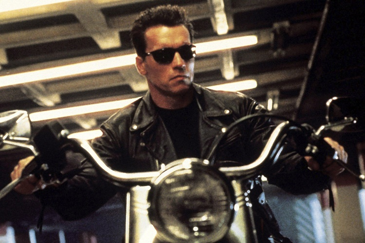 TERMINATOR 2: JUDGMENT DAY, Arnold Schwarzenegger, 1991, ©TriStar Pictures/courtesy Everett Collection