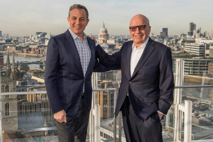 Disney CEO'su Bob Iger ve 21st Century Fox'un sahibi Rupert Murdoch