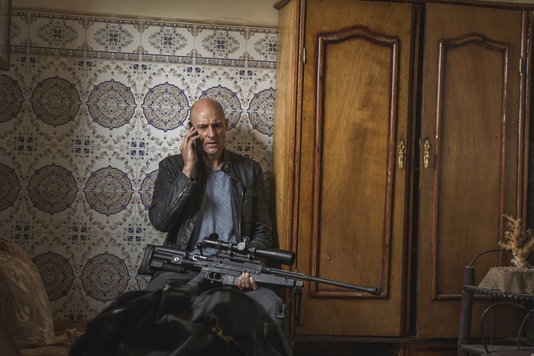 Pictured: Mark Strong as Max Easton in DEEP STATE.