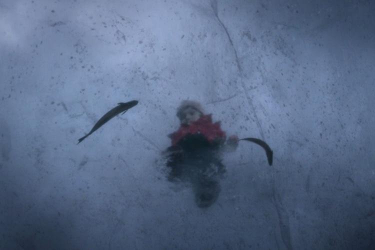 Thelma'yı vahşi yanından ayıran buz