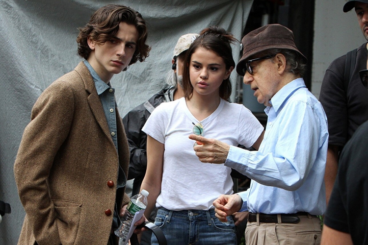 Картинки по запросу Woody Allen'ın Son Filmi A Rainy Day in New York İtalya'da Vizyona Girecek