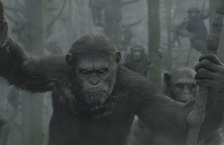 Dwn of the Planet of the Apes