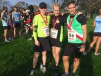 Hayling Island 10 mile race - With our medals